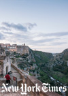 Photo caption: Basilicata is a misshapen, green, rocky, mountainous piece of land forming the awkward instep of Italy's boot, and Matera is its gnarled crown jewel. © Susan Wright for The New York Times