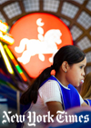 Children in the arcade area at the Abasto Shopping Mall.  Agustin Nieto for The New York Times